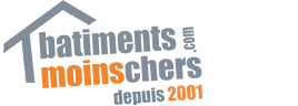 Logo of batimentsmoinschers.com