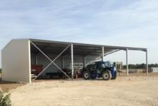 Batiment agricole métallique en kit