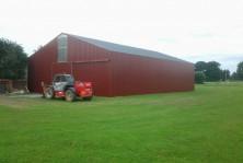hangar agricole pente 30%